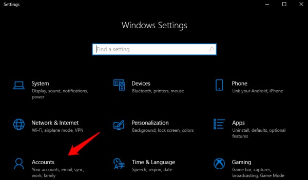 windows 10 ayarları