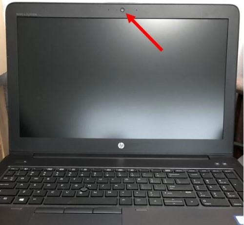 Yerleşik web kamerası bulunan dizüstü bilgisayar