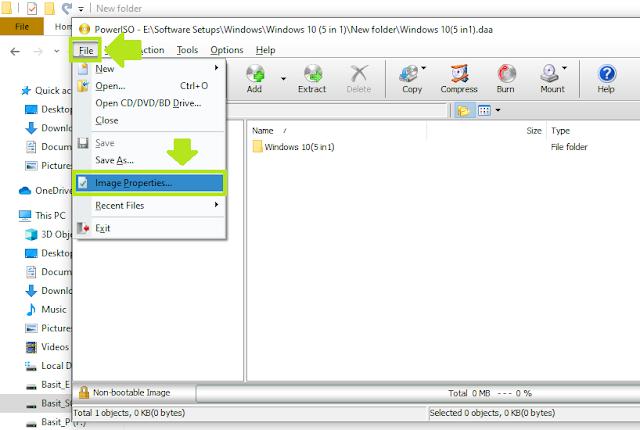 Windows'ta .ISO Dosyası Nasıl Açılır, Çıkarılır ve Oluşturulur |  .ISO Dosyasında Parola Ayarlayın