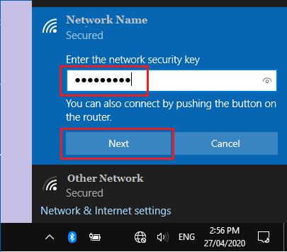 Windows Bilgisayarda Ağa Katılın